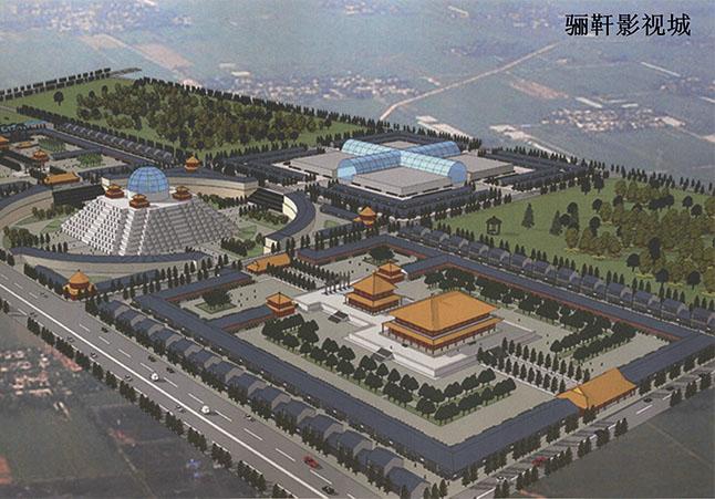 甘肃骊靬古城.梵宫