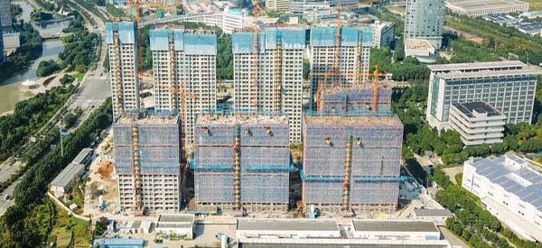 热烈祝贺宁波高新区住建局在越烽建设宁波万科东城1902项目观摩会取得圆满成功