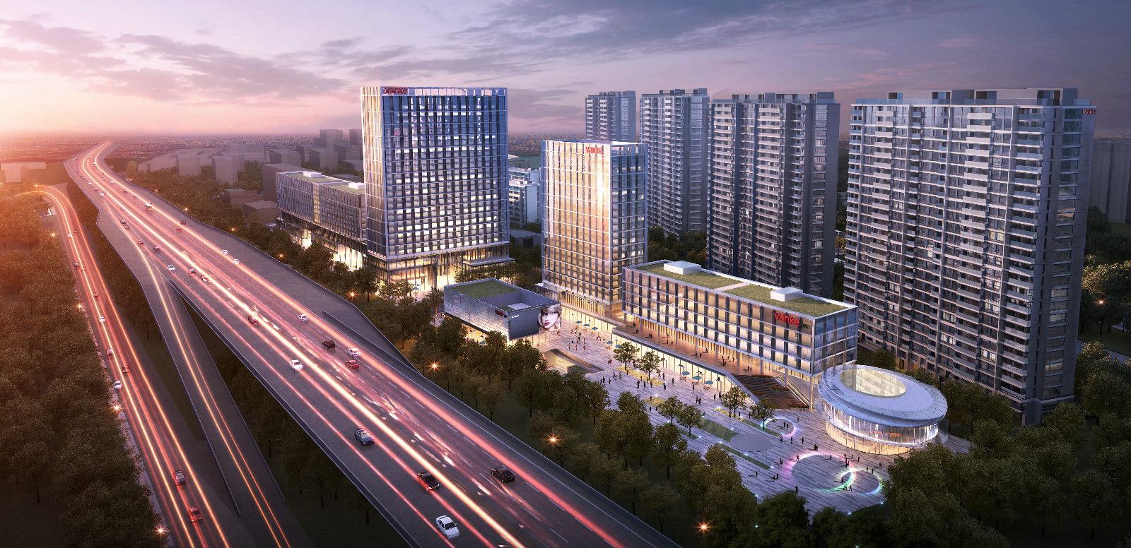 万科·杭州中城汇项目