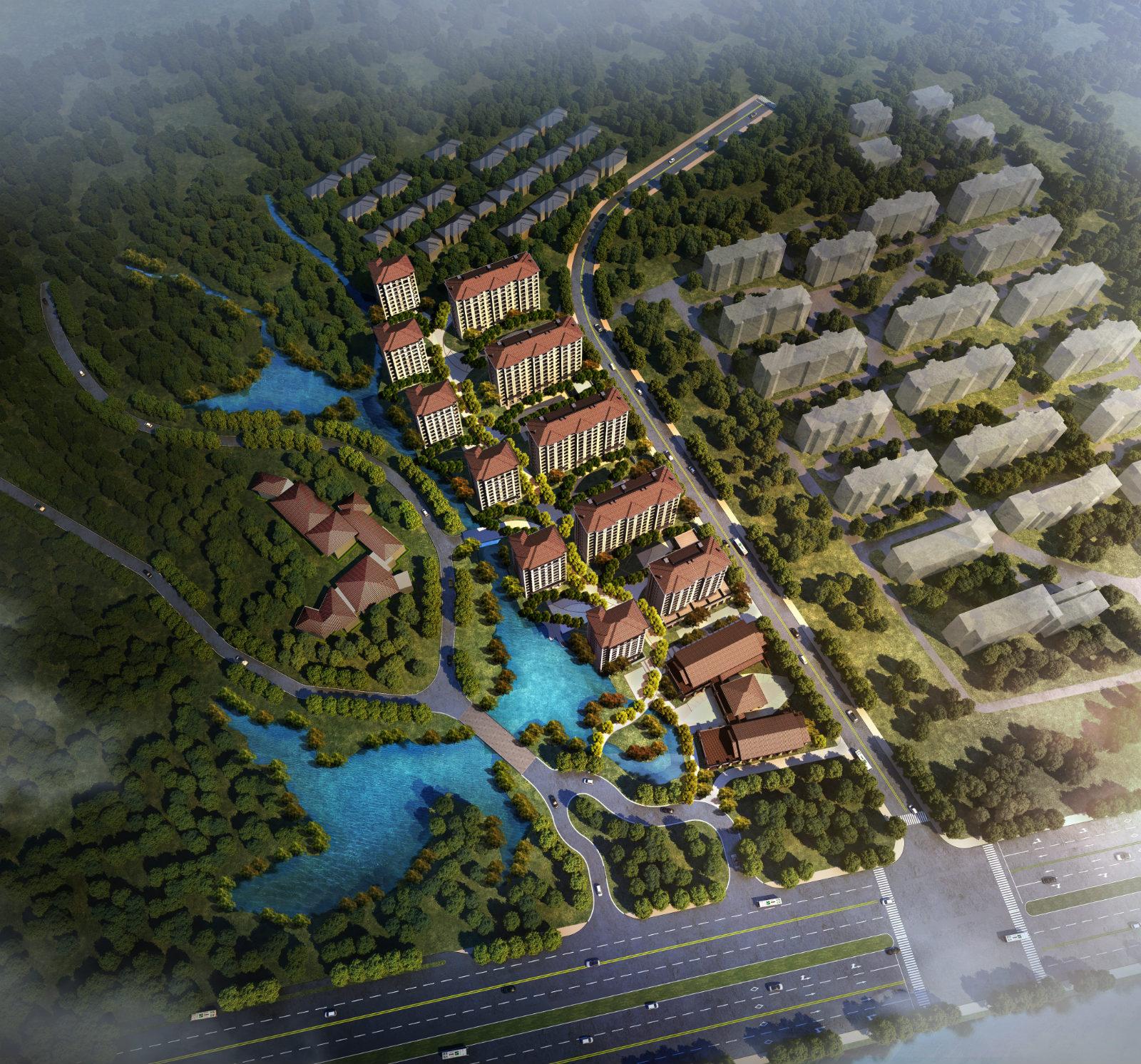万科·富阳泉水湾项目
