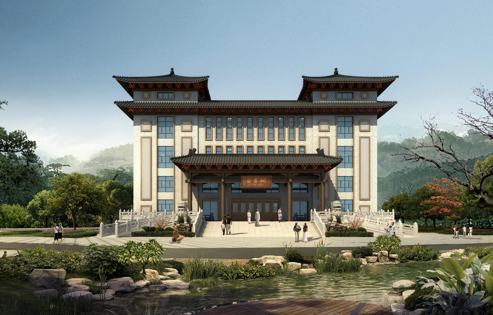 广东云门寺图书馆